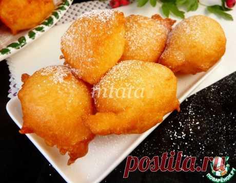 Пончики на йогурте – кулинарный рецепт