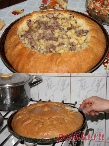 Бэлеш - самое знаменитое блюдо татарской кухни.