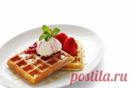 Венские вафли: пошаговые фото-рецепты для электровафельницы