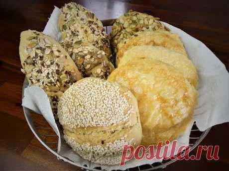 20 Minuten Brötchen wie vom Bäcker/ Sonntagsbrötchen/ohne lange Gehzeiten/nur wenige Zutaten/softies