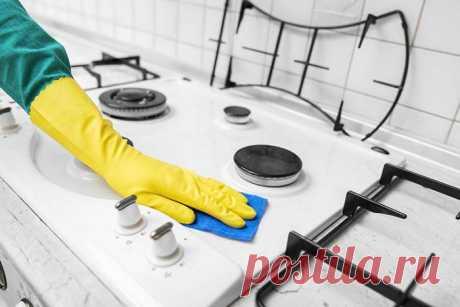 Как легко и быстро отмыть грязную плиту