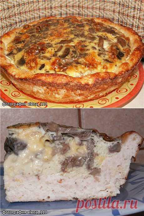 Куриное лукошко с грибным омлетом : Вторые блюда