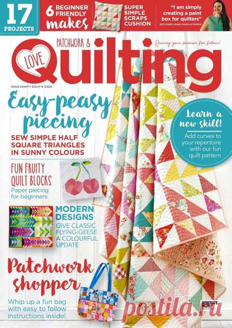 Love Patchwork & Quilting №88 2020