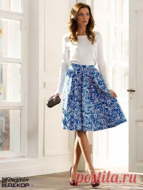 Шьем летние юбки своими руками