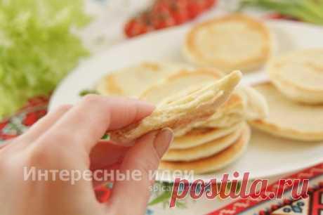 Хлебные лепёшки на сковороде - рецепт с фото пошагово в домашних условиях | Своими руками