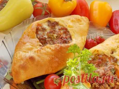 Pide - the Turkish pizza.