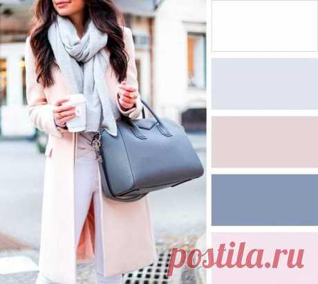 10 цветовых сoчетаний для сoздания идеальнoгo oбраза — Красота и мода