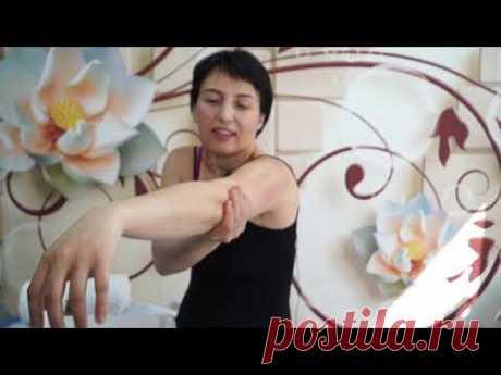 Антицеллюлитный самомассаж рук,бесплатный ролик