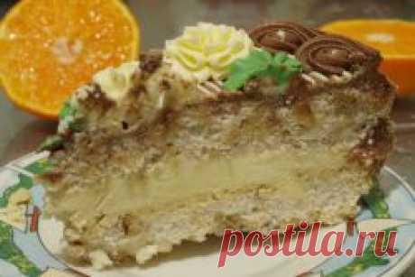 Киевский торт - оригинальный советский рецепт.