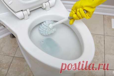 Как избавиться от ржавчины на унитазе. Стерильная чистота, о которой вы давно мечтали!