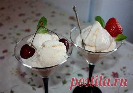 Кулинария >Как сделать вкуснейшее мороженое дома
