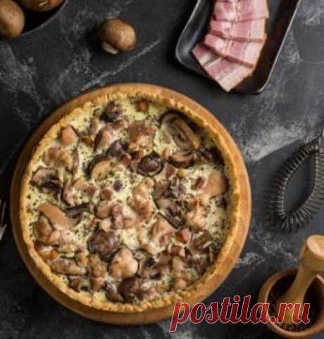 Рецепт приготовления вкусного пирога с грибами