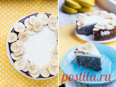 Маковый пирог со сметанным кремом от Анастасии Скрипкиной