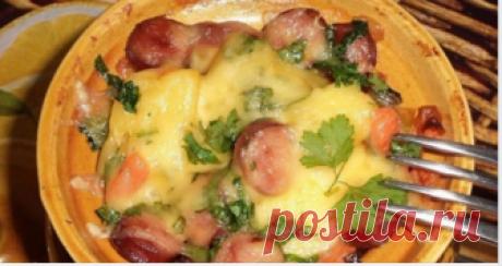 Обалденные блюда в горшочках: топ-10 рецептов Варианты ужина за 30 минут 1. Горшочки с мясом, фасолью и грибами...
