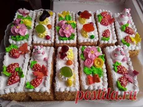 Детское пирожное