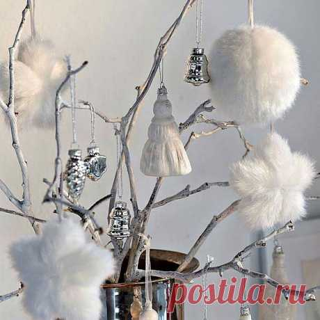 Скоро Новый Год! Думаю прекрасная идея для декора!