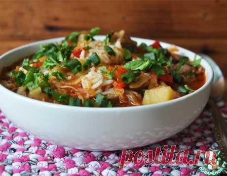 Лагман из риса – кулинарный рецепт