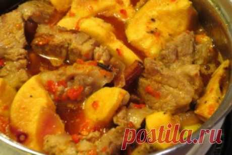 Мясо с айвой - оригинальное и вкусное блюдо,  однажды попробовав обязательно захочется вновь его  приготовить и всех угостить