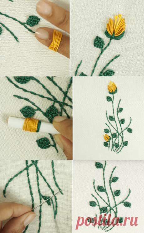 Удивительная ручная вышивка — Сделай сам, идеи для творчества - DIY Ideas