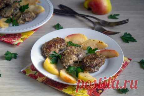 Куриная печень с яблоками рецепт с фото пошагово и видео - 1000.menu