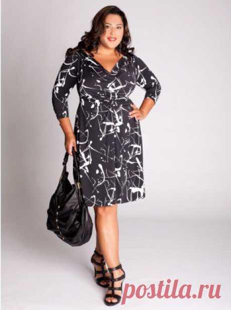Выкройки платьев для полных женщин - 125 выкроек.