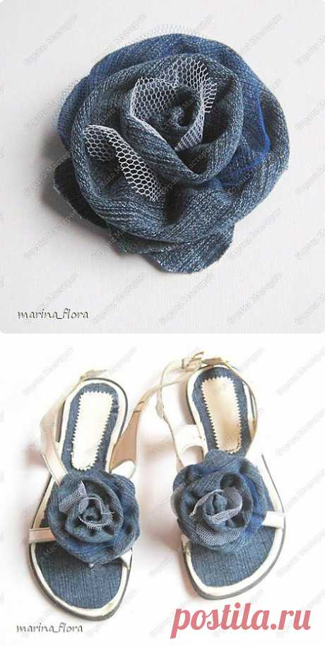 JEANS ROSE or Second life of old things.   Country of Masters