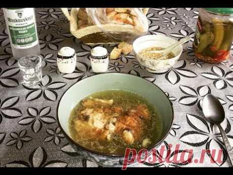 Как варить хаш / How to cook  the khash (Azerbaijani version)
