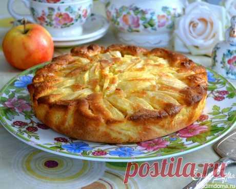 Итальянский деревенский яблочный пирог | Кулинарные рецепты от «Едим дома!»