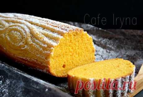 Морковный кекс с цедрой лимона
