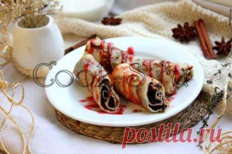 Блины с маком - Пошаговый рецепт с фото | Десерты
