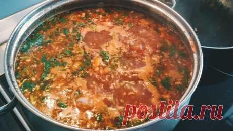 Приготовила восхитительный острый супчик – харчо (мой любимый рецепт этого супа) | Ксюша-Печенюша | Яндекс Дзен