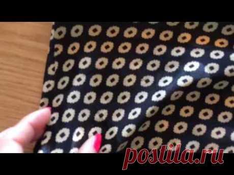 Шьём блузу- тунику для полных женщин Натуральный шёлк Крой по косой Расход ткани 2,7м при ширине 110м Мой Инстаграм instagram.com/elionoranikolaeva Моя страница VK vk.com/id86563336