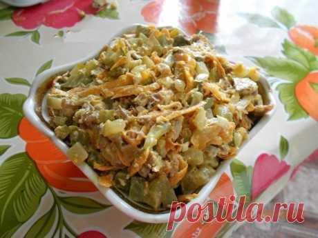 Салат Обжорка - вкуснятинка