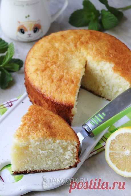 Итальянский пирог «12 ложек» — рецепт с фото пошагово.
