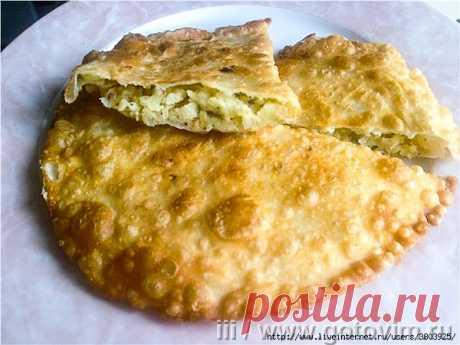 Las empanadillas magras - que crujen admirablemente y perfectamente rozagante