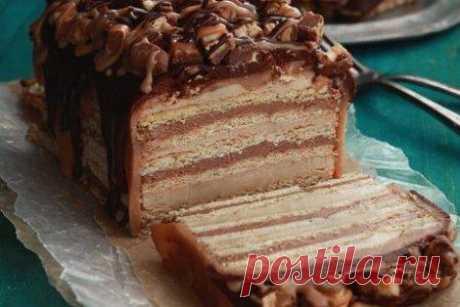 """La torta vkusneyshy """"Сникерс"""""""