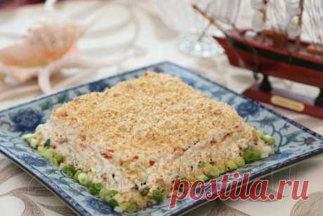 Old Harbour salad: 2 PLATES   cookery, recipes, dishes, step-by-step photos, search in ingredients