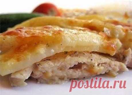 """Картошка """"По-царски"""" Получилось очень вкусное, сочное и ароматное блюдо!"""