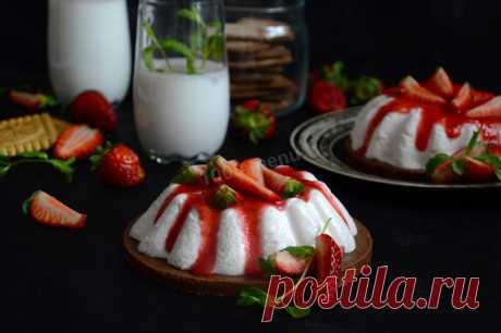 Десерт с рикоттой без выпечки рецепт с фото пошагово и видео - 1000.menu