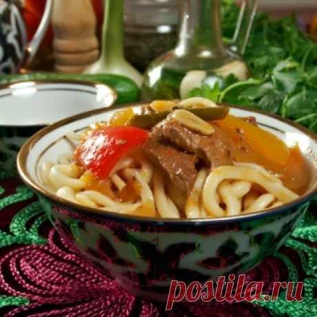 Как сделать вкусный лагман по-уйгурски
