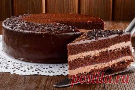 Девочки  для вас выкладываем обалденный рецептик  Пражский торт   Ингредиенты: Показать полностью…