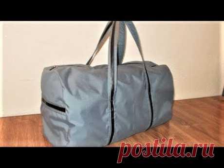 Как сшить дорожную сумку. How to sew a travel bag