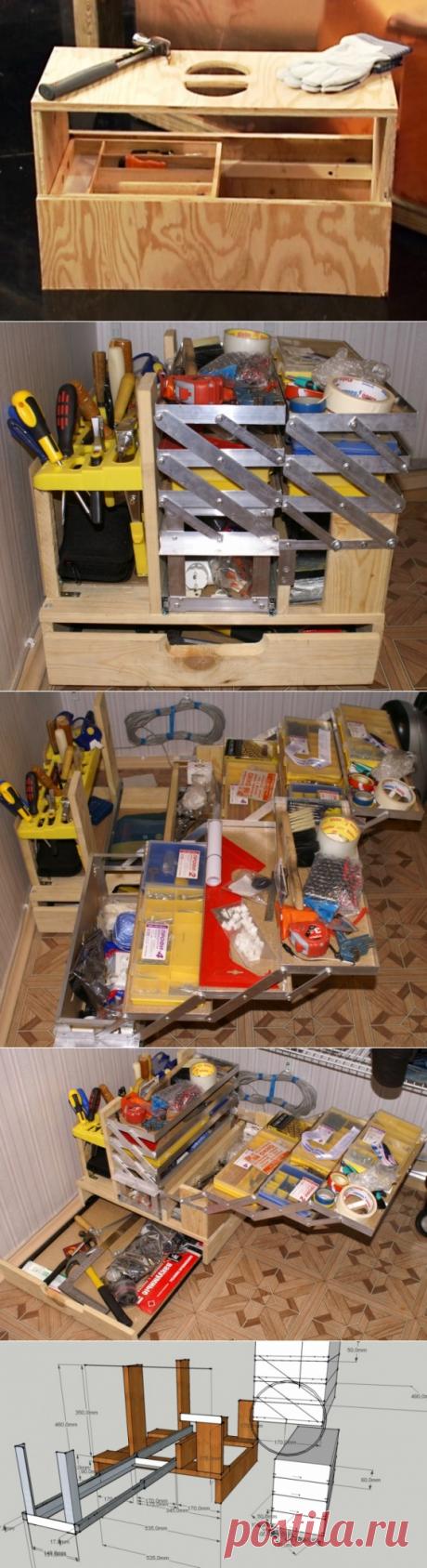 Мужская самоделка: ящик для инструментов / Я - суперпупер