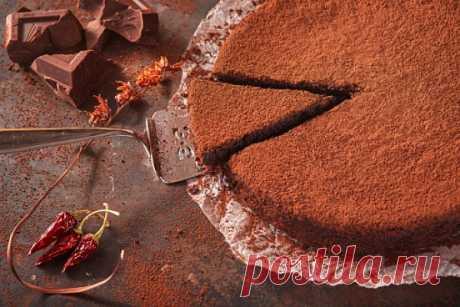 Шоколадное пирожное с перцем чили - Домашний очаг