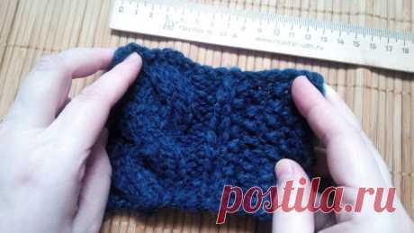 Моя маленькая хитрость: как рассчитать петли перед началом вязания, чтобы не переделывать работу - Ярмарка Мастеров - ручная работа, handmade