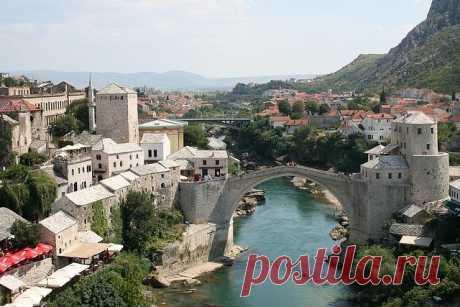 Старый мост (Мостар), Босния и Герцеговина — Путешествия