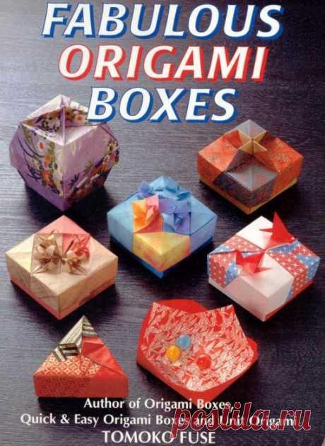 Cajas de Origami para un regalo.