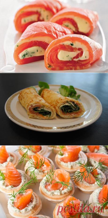 Рыбные закуски на праздничный стол - likemi.ru