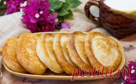Пышные оладьи на кефире, идеальный рецепт оладушек с пошаговыми фото   Все Блюда
