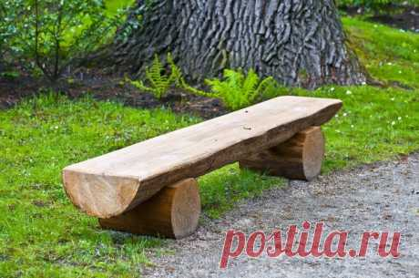 Изделия из дерева для дачи – удачный вариант дизайна